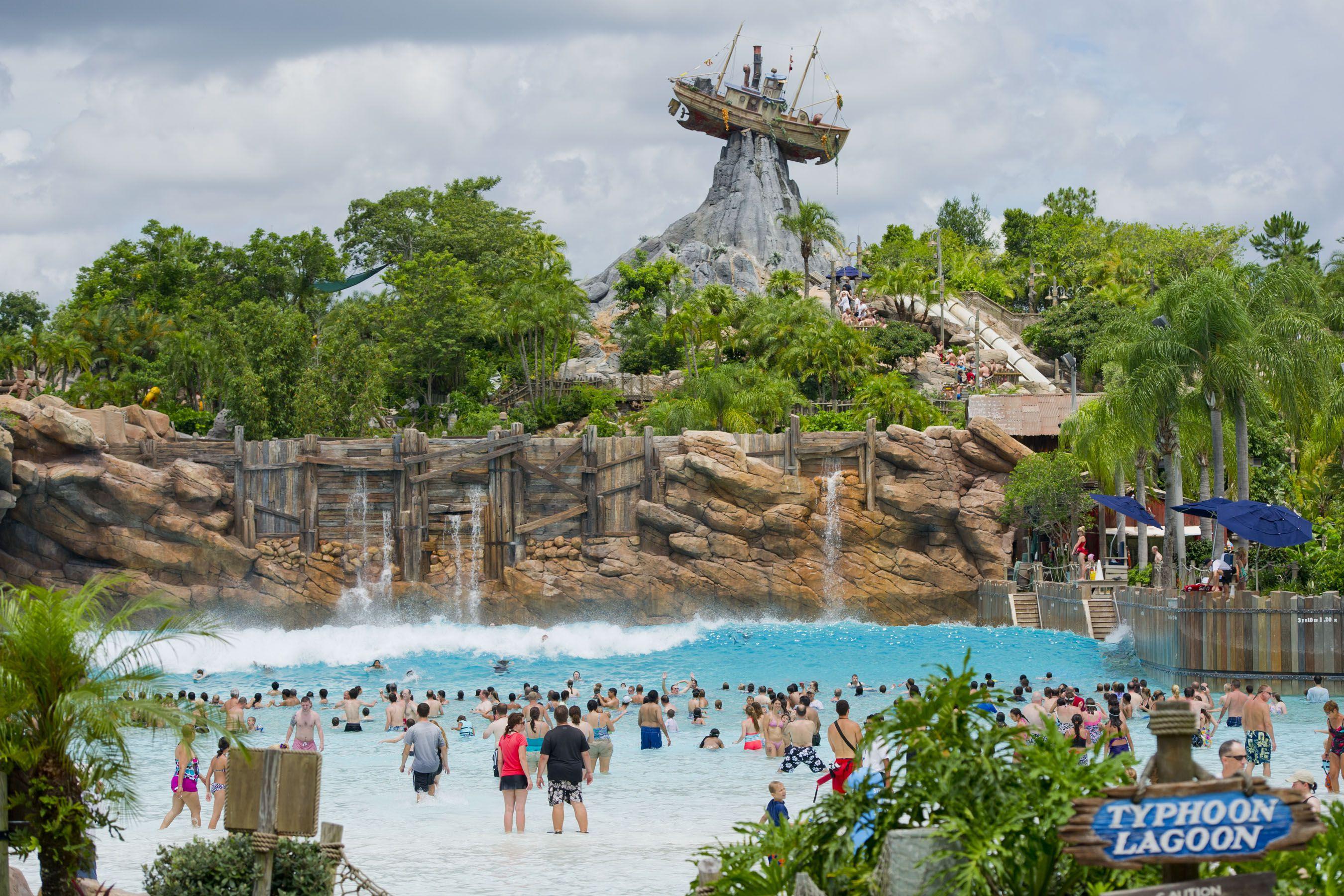 Disney's Typhoon Lagoon water park.