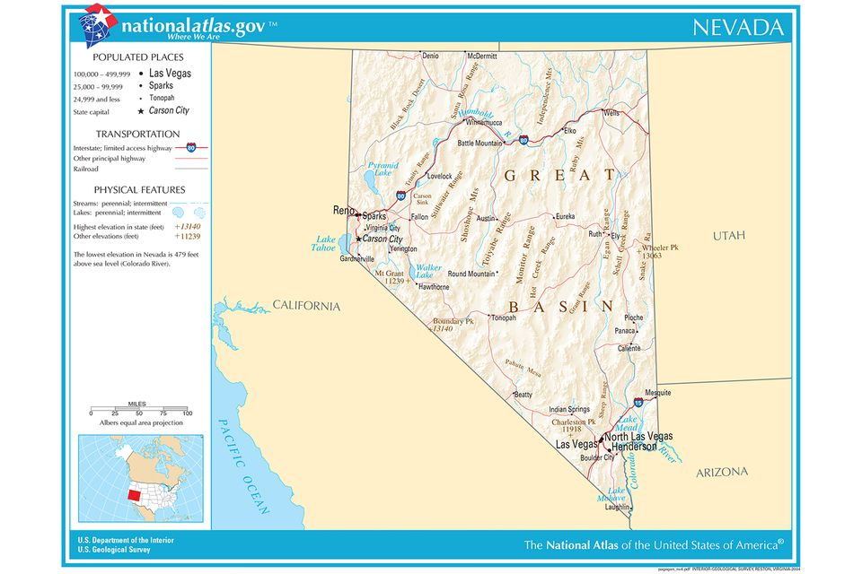Map Of California Arizona And Nevada.Maps Of The Southwestern Us For Trip Planning