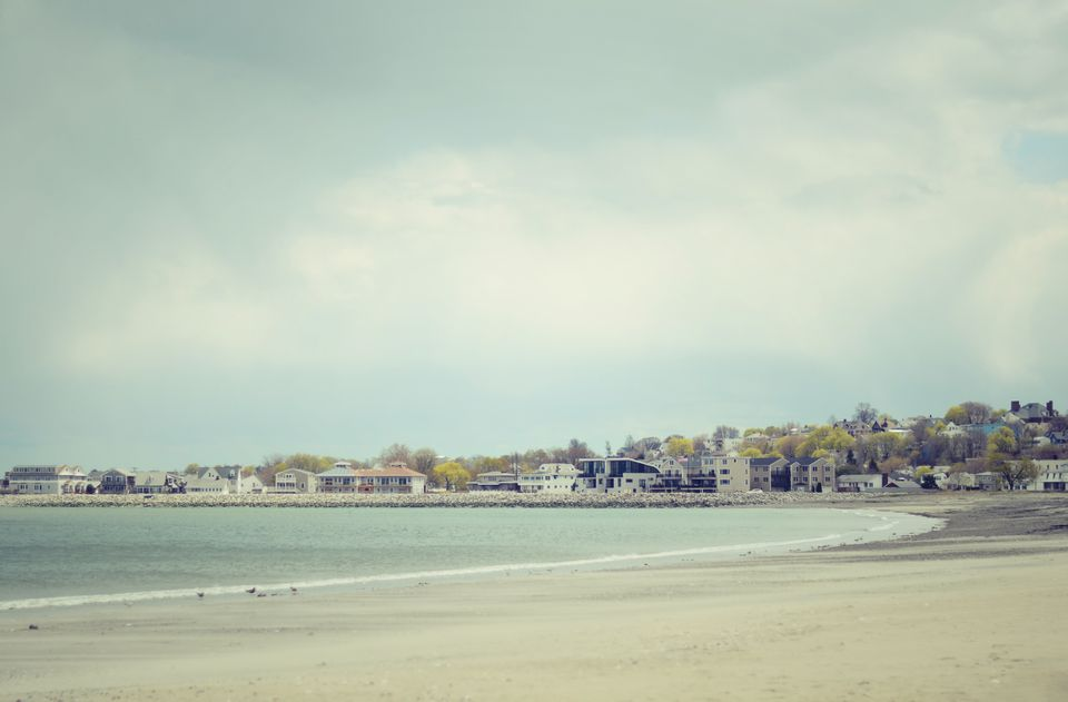Revere Beach in Boston, Massachusetts