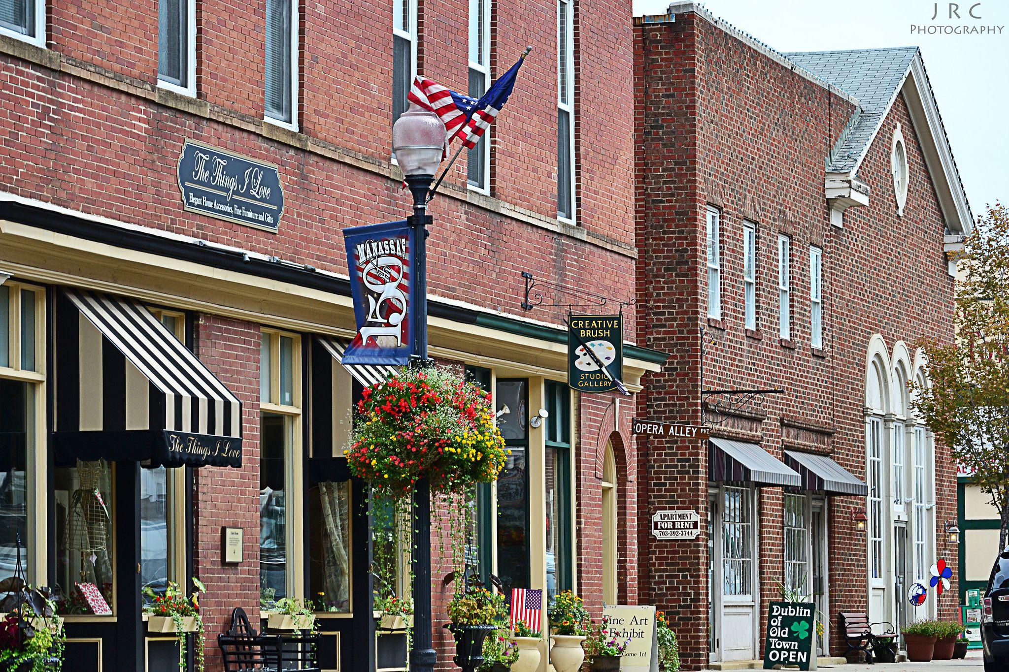 Center Street, Old Town Manassas