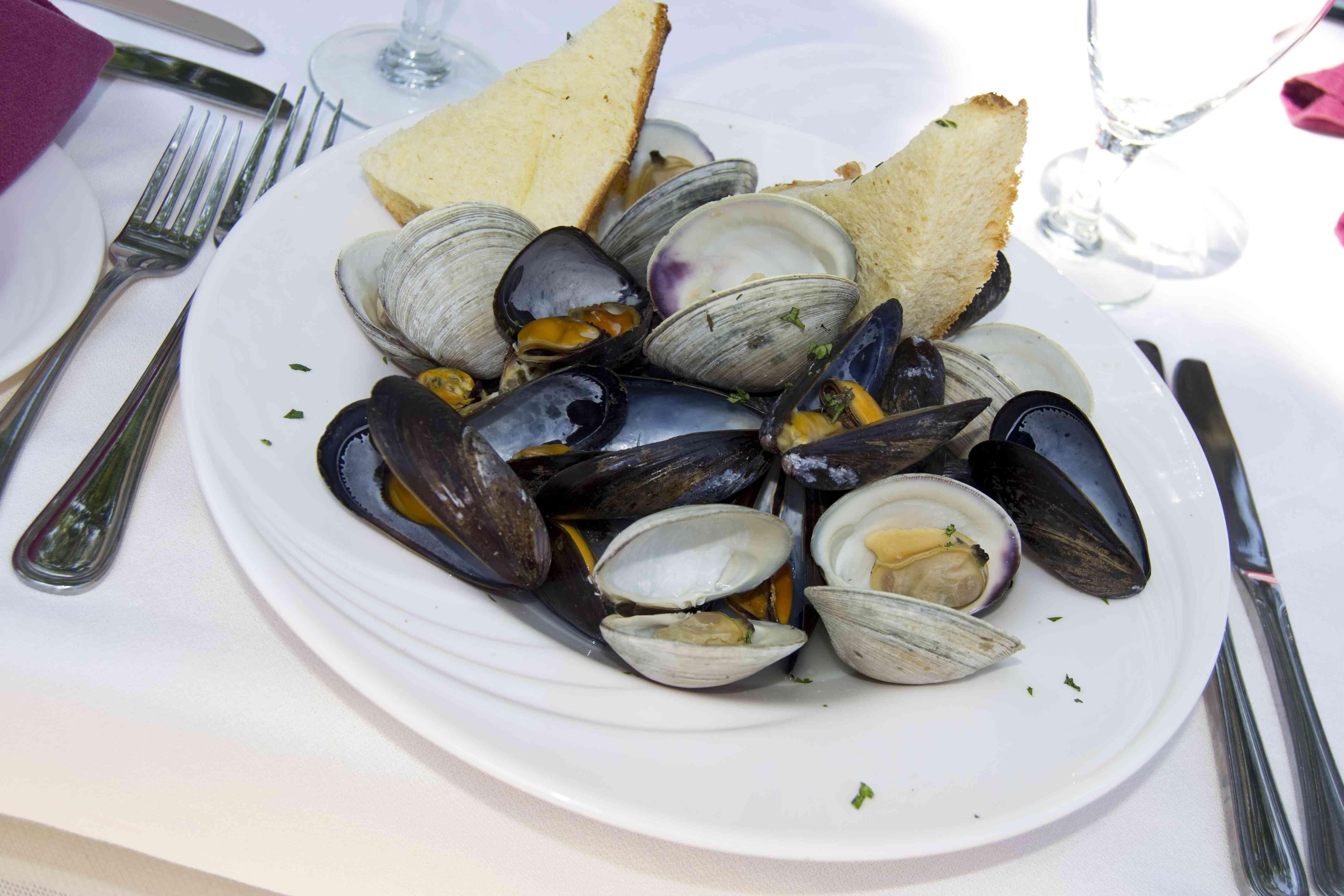 Crescent Beach seafood