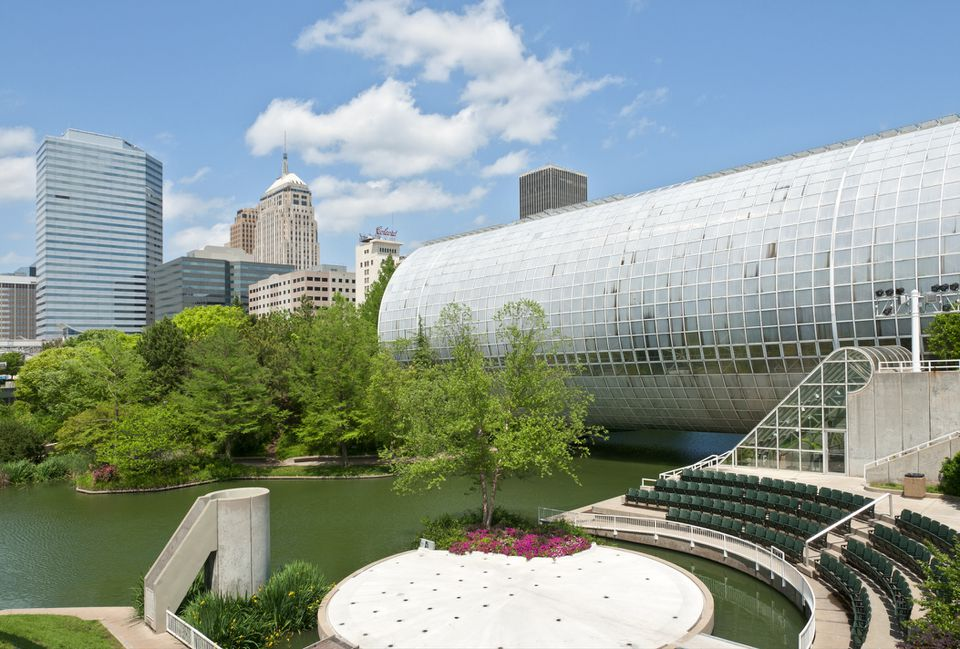 Myriad Botanical Gardens and Crystal Bridge Tropical Conservatory.