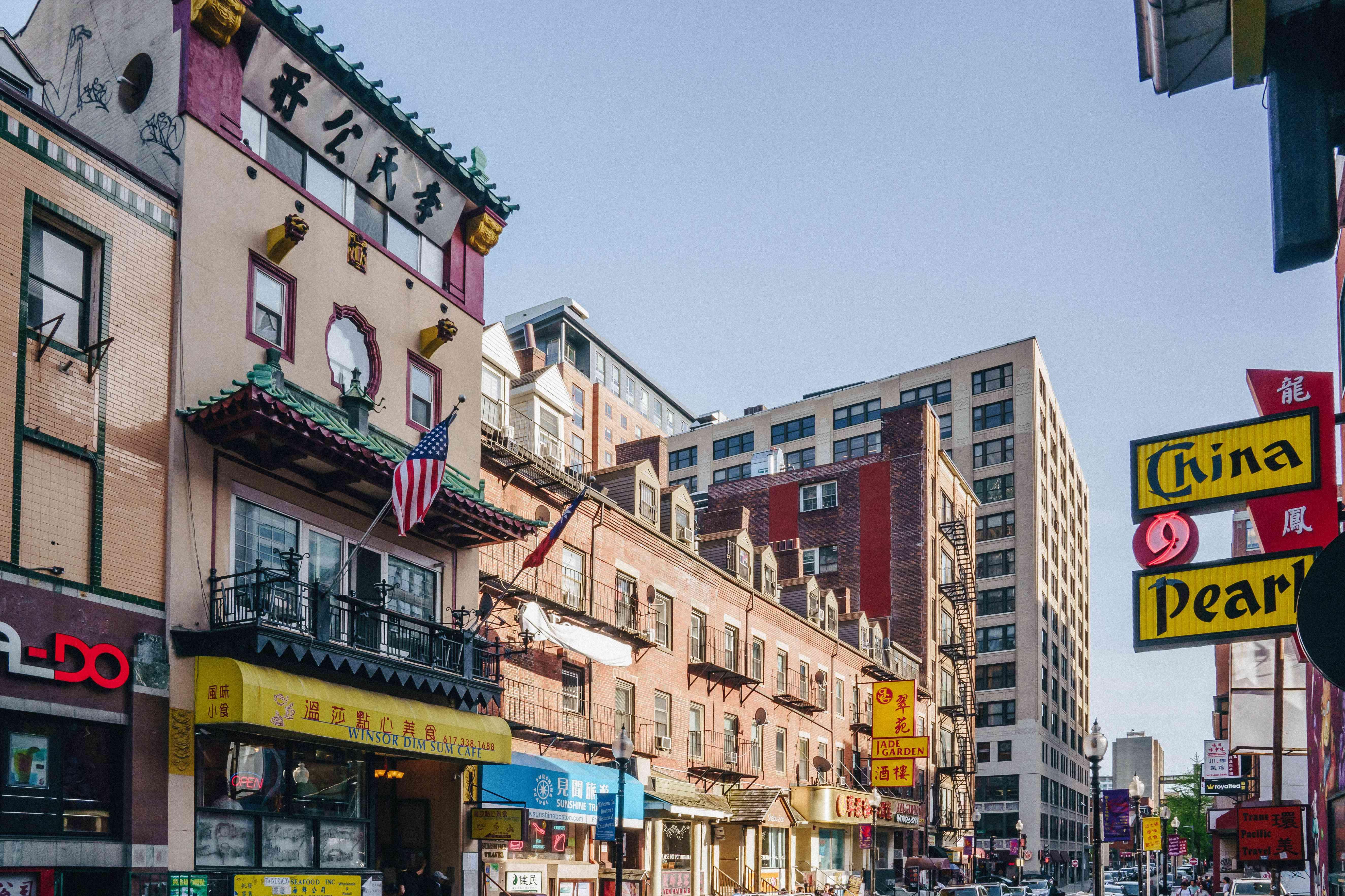 La ciudad china de Boston