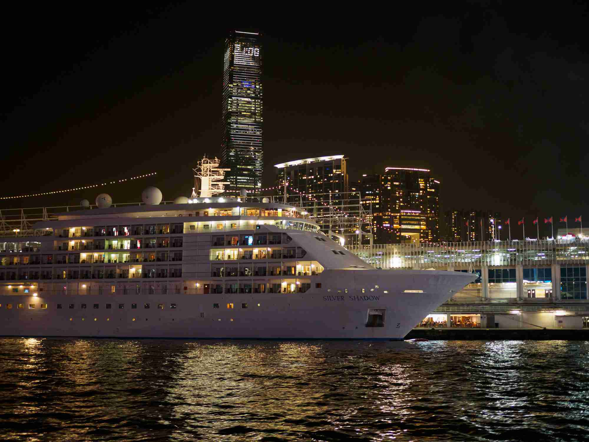 Ocean Terminal Deck in Hong Kong