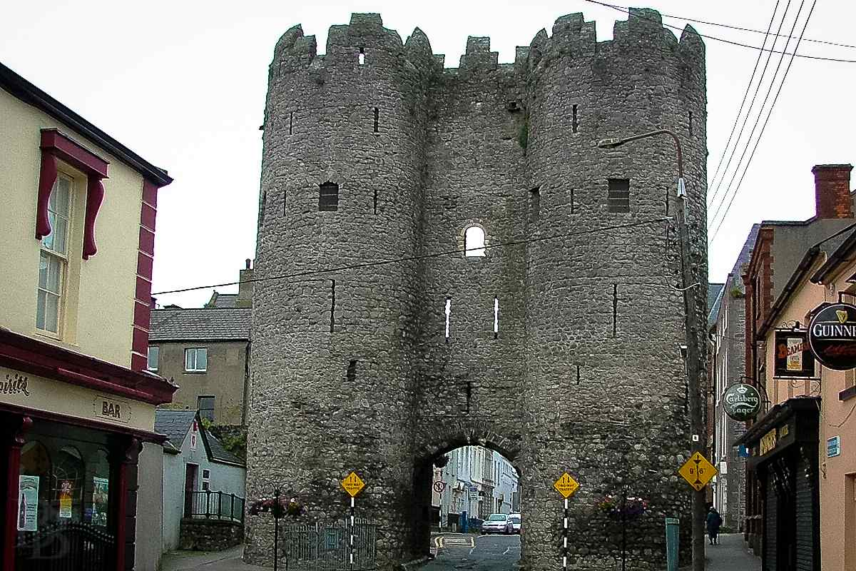 Saint Laurence's Gate in Drogheda, a piece of medieval Ireland