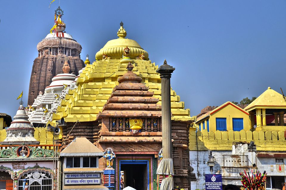 Main entrance to Jagannath temple, Puri.
