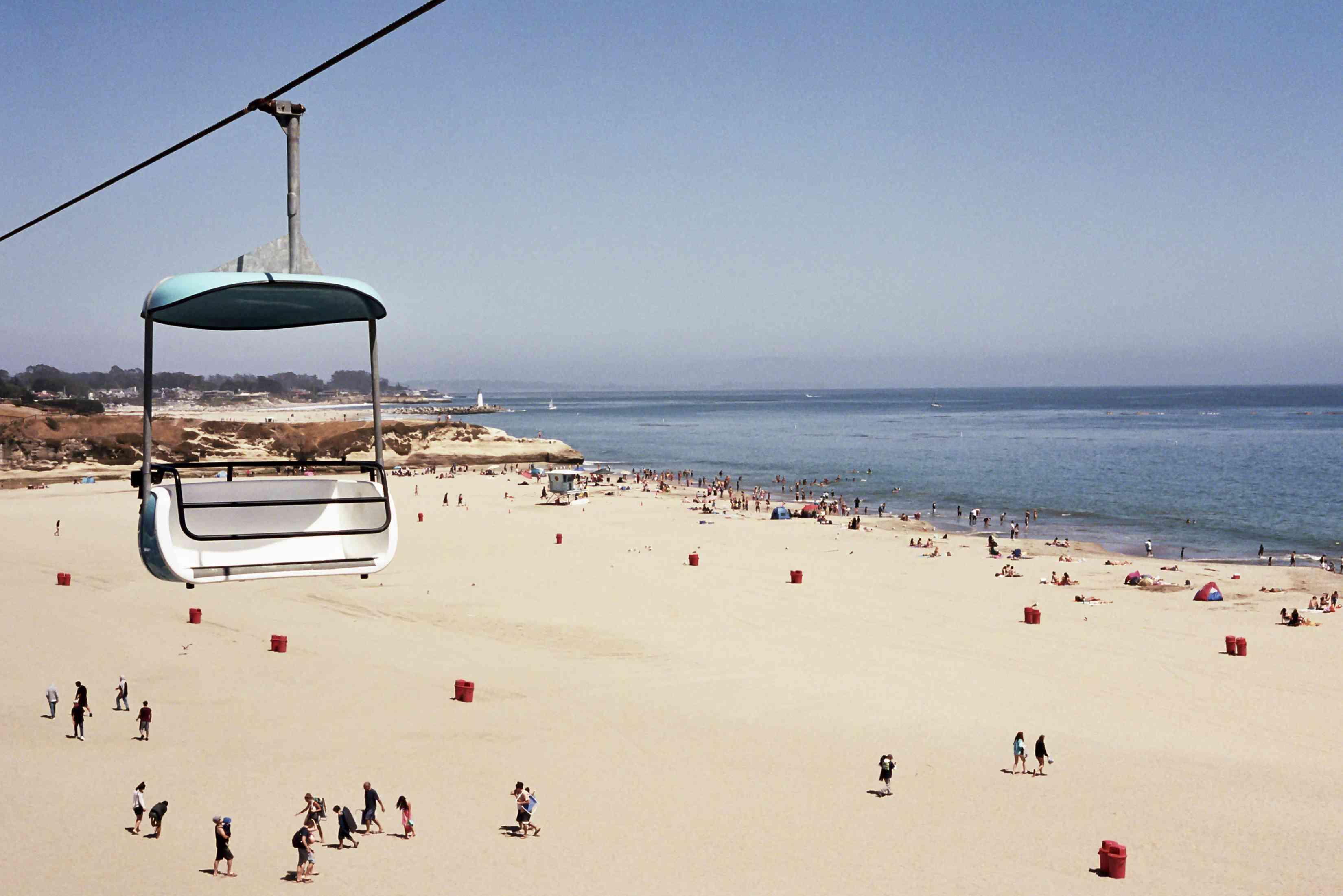 Amusement Park Ride at Santa Cruz Beach