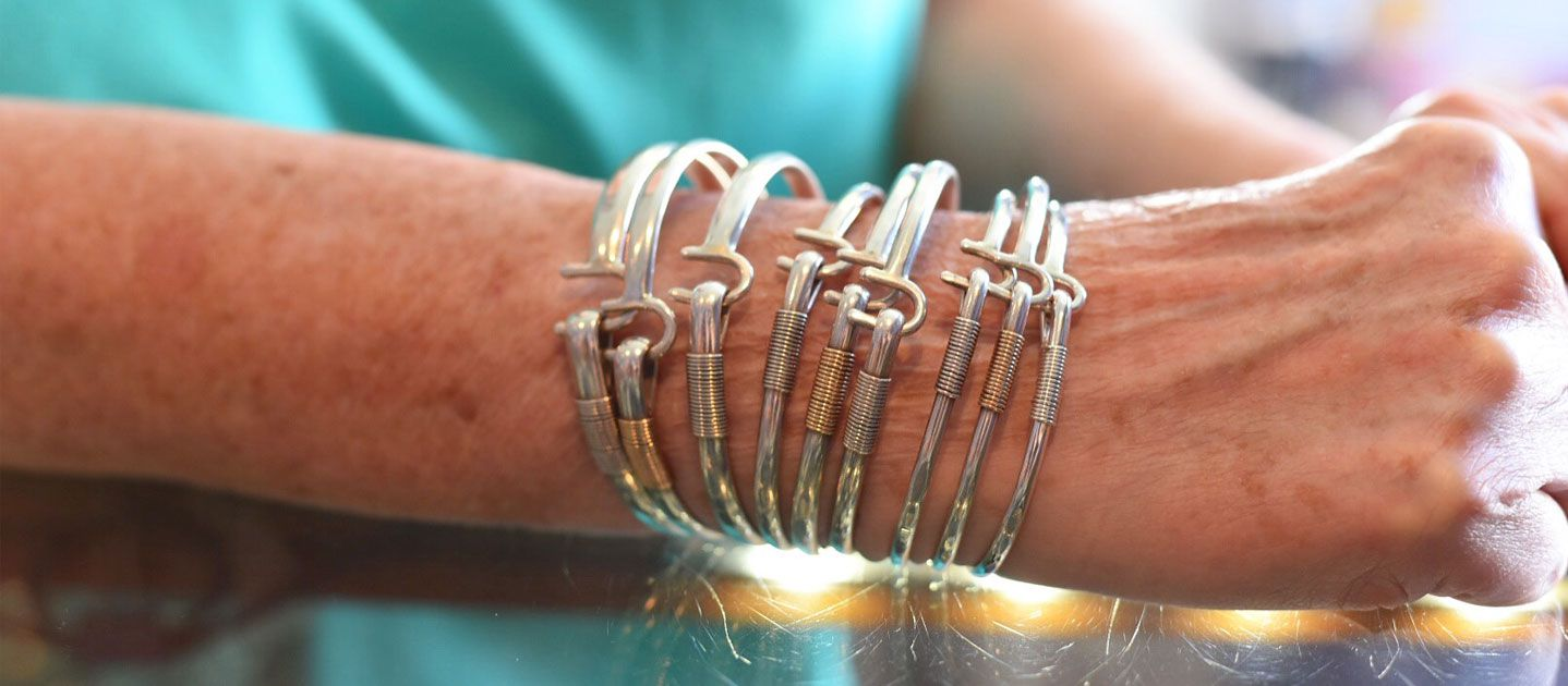 St. Croix hook bracelets
