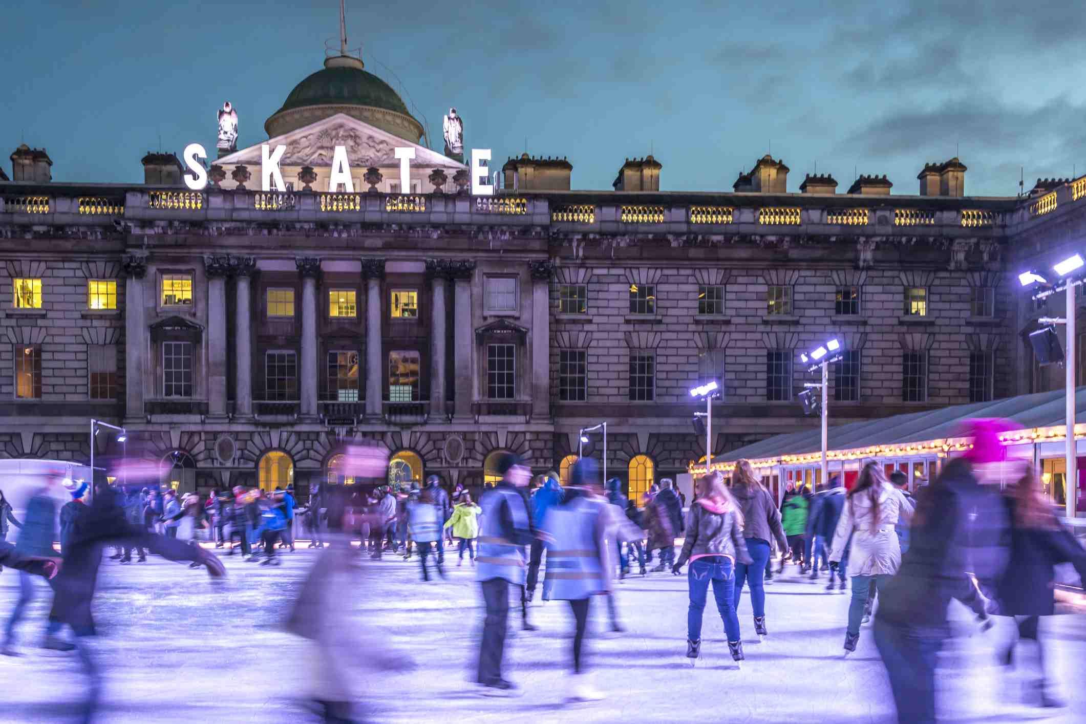 Pista de hielo Somerset House
