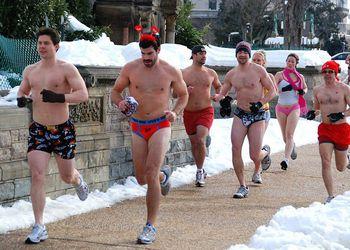 Cupid's Undie Run in Washington, D.C.