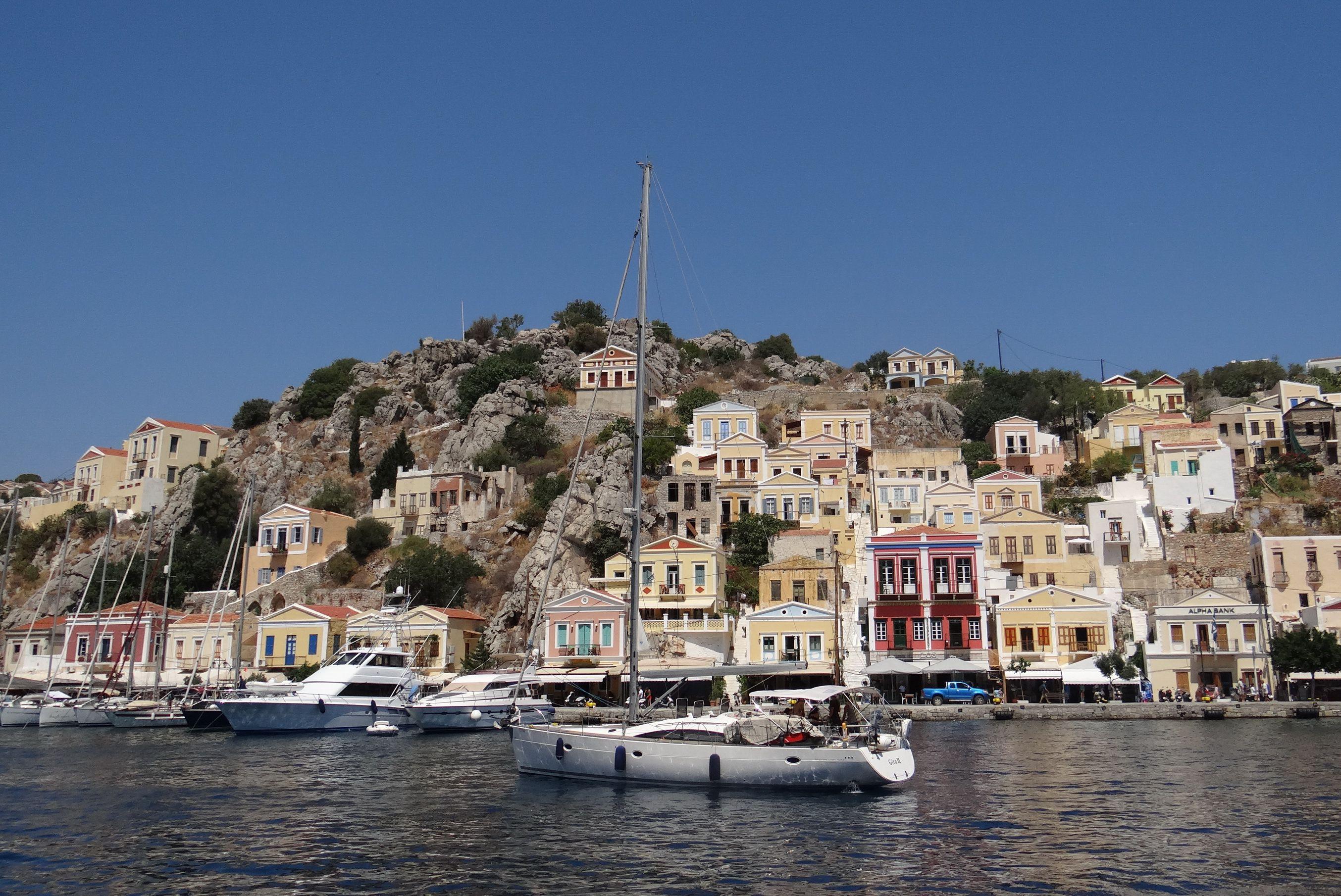 Simi (or Symi) - Greek island in the Aegean Sea