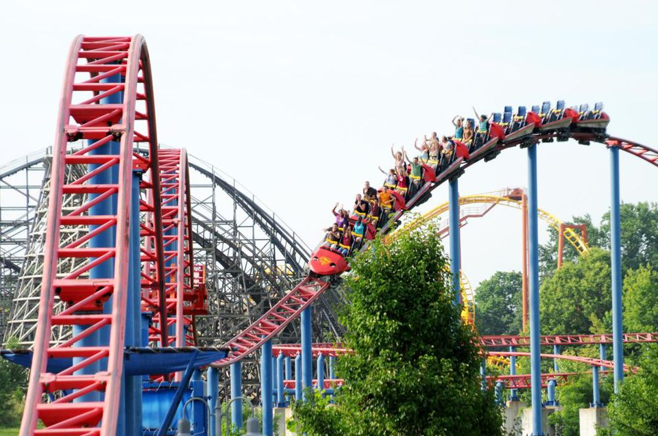Superman Rollercoaster