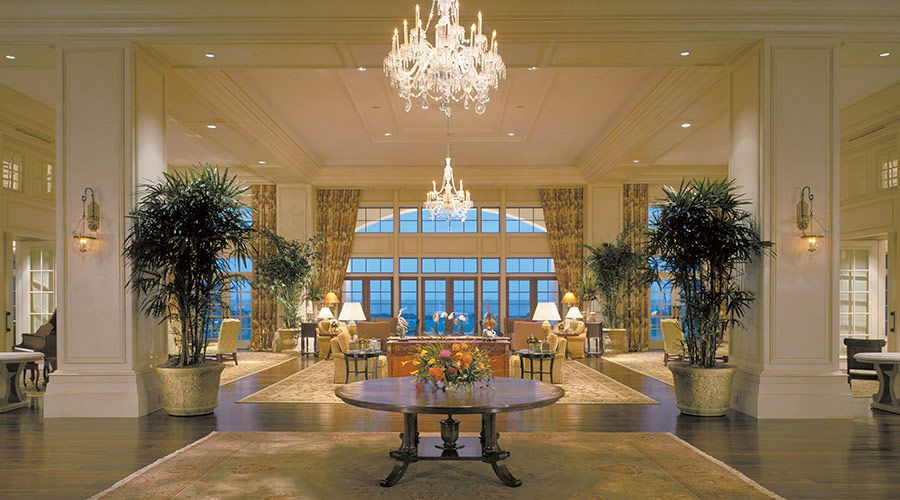 Sanctuary at Kiawah Island lobby