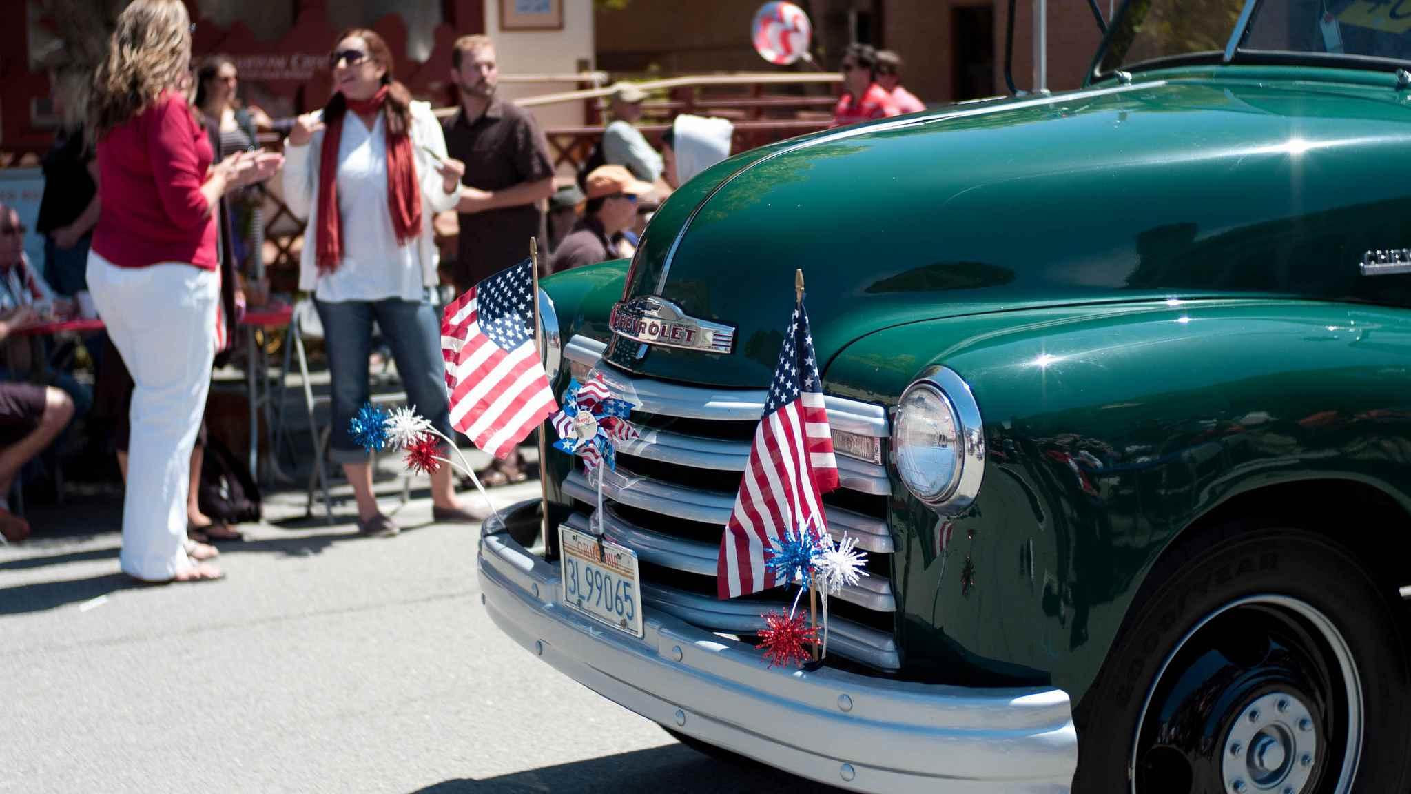 Desfile del 4 de julio en Sausalito, CA