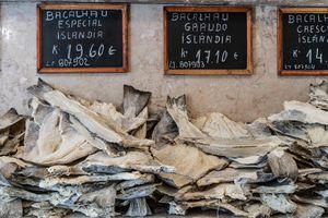 Dried codfish