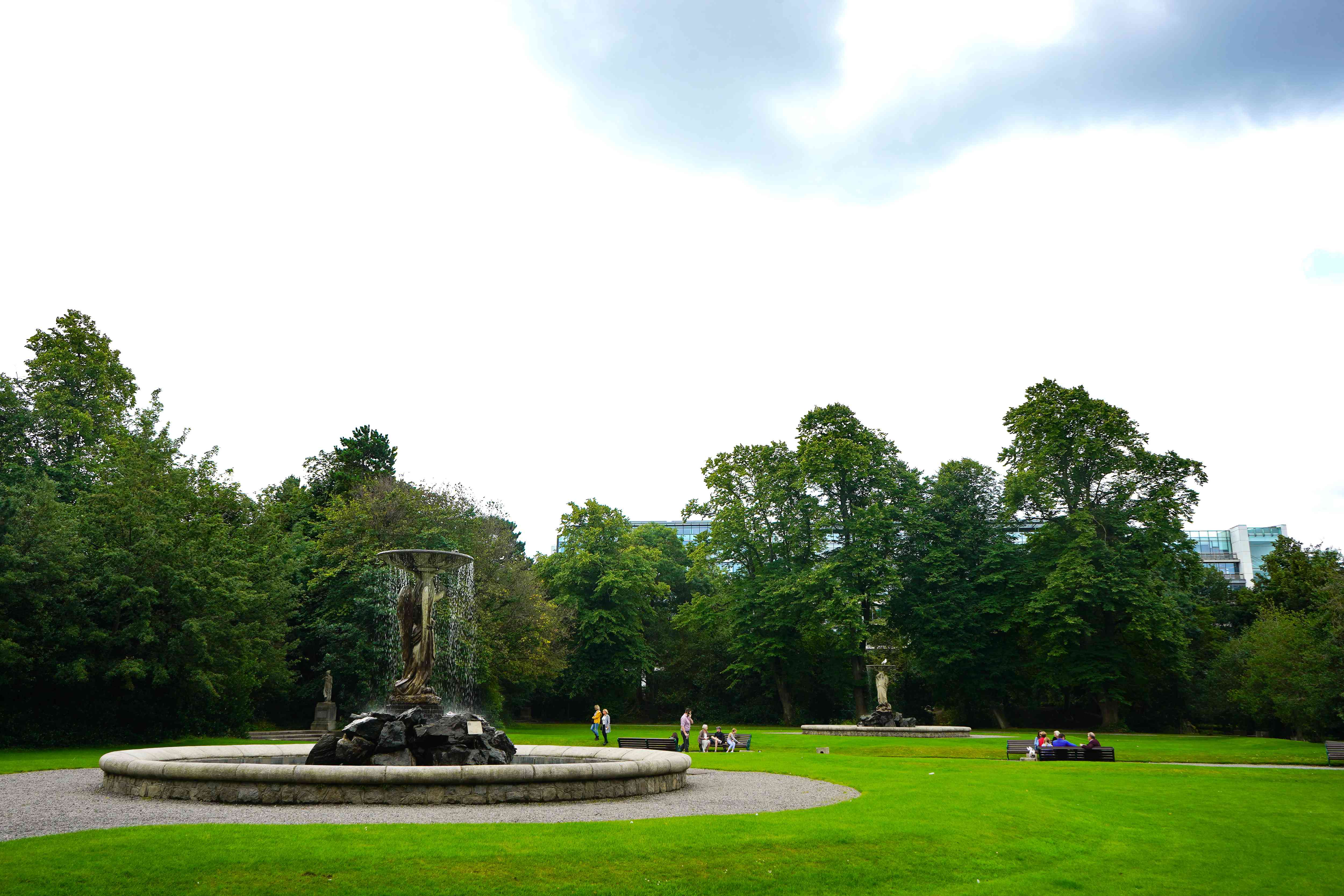Iveagh Gardens in Dublin, Ireland