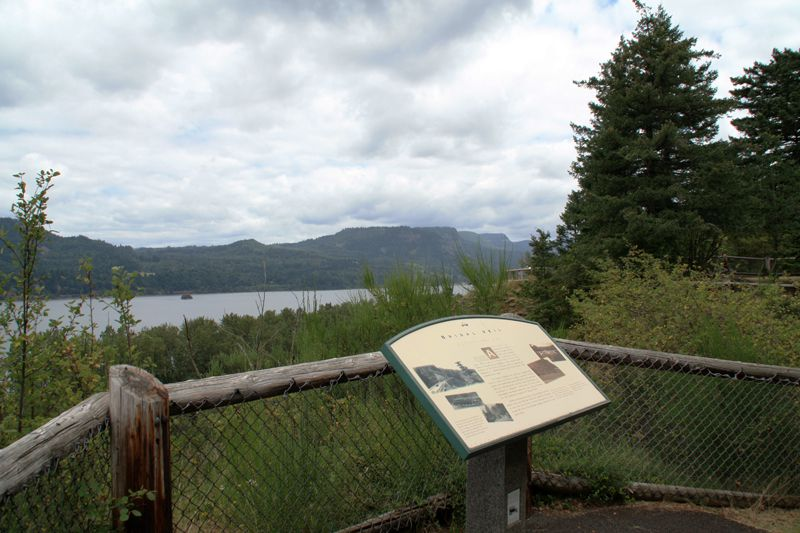 Interpretive Trail View of the Columbia River