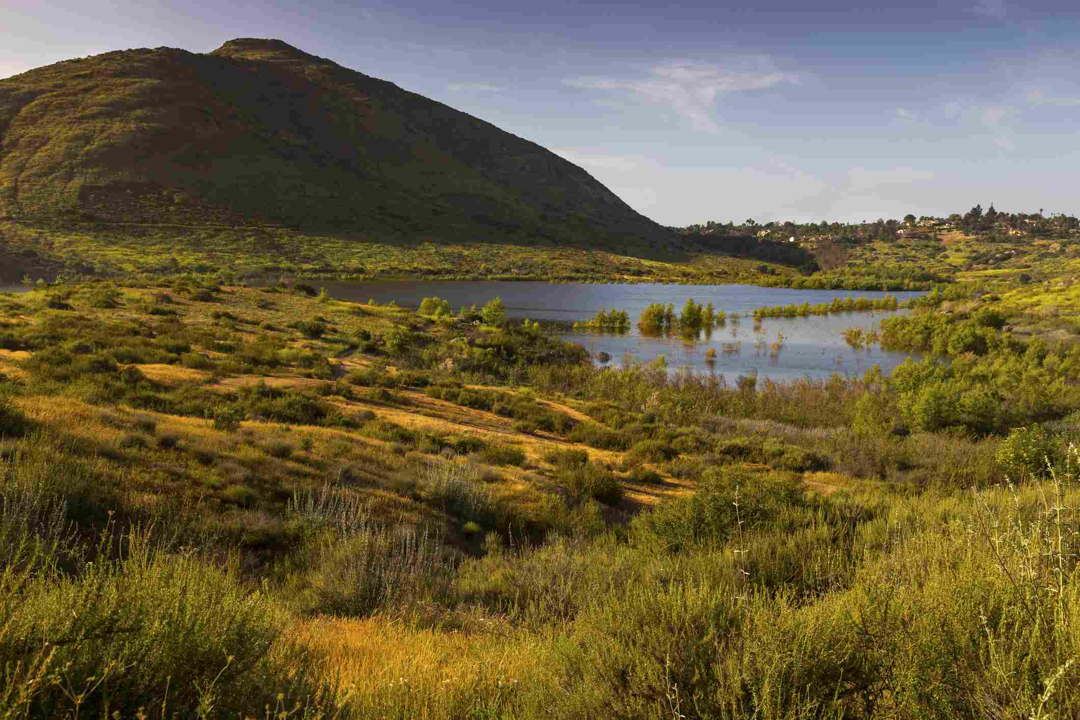 Lake Hodges, south of Escondido