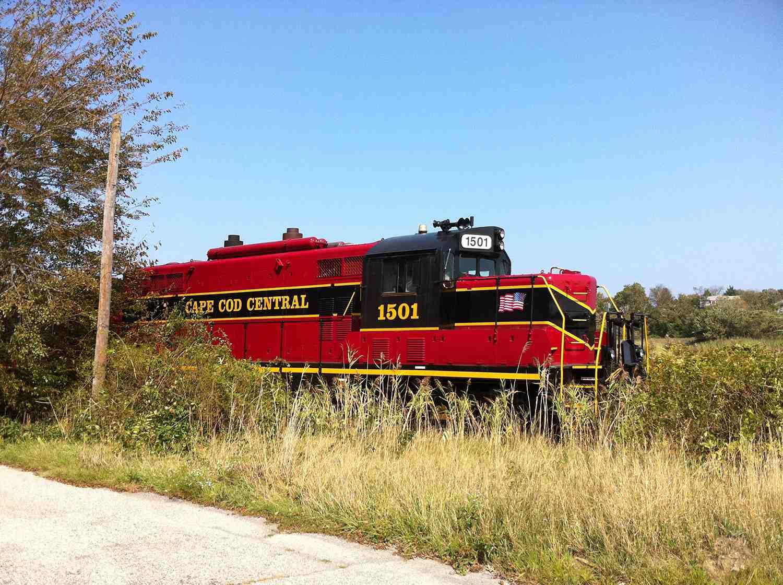 Cape Cod Central Railroad in Sandwich, Massachusetts