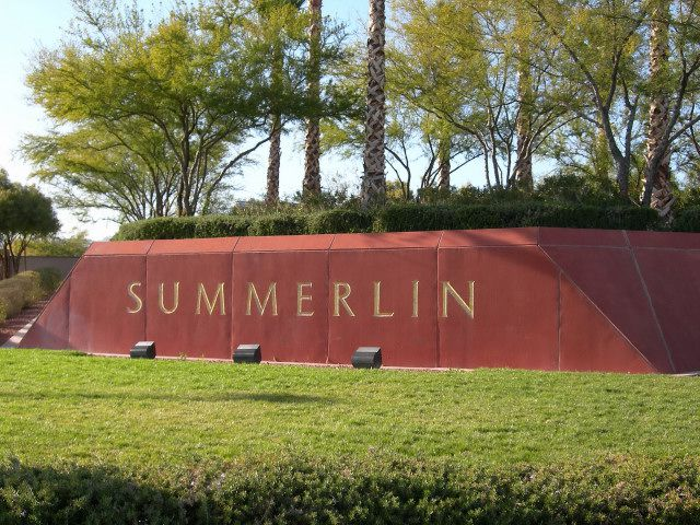 Summerlin – A Profile of Summerlin Las Vegas