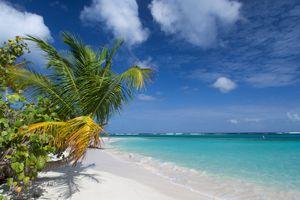 Flamenco beach in Culebra, Puerto Rico