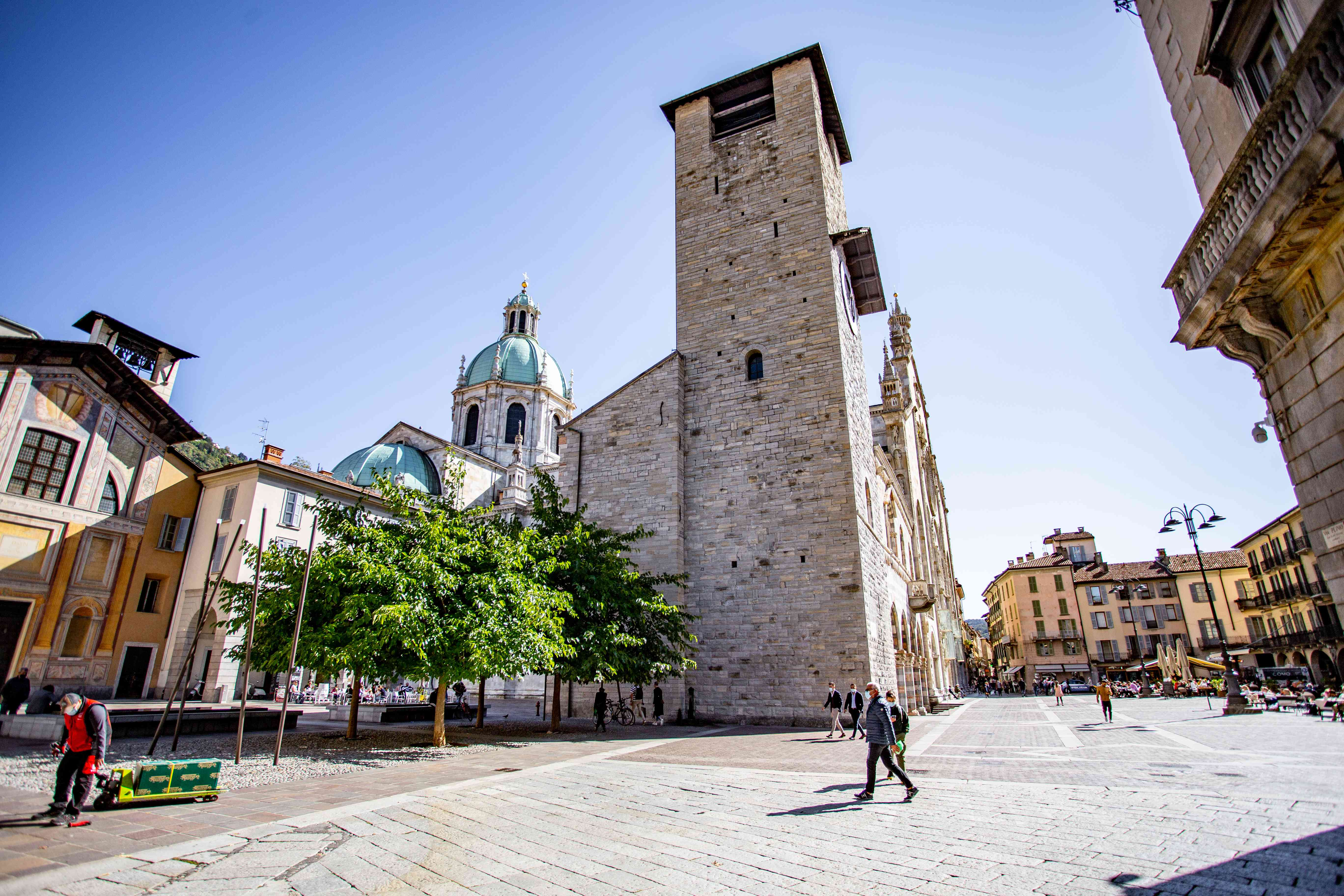City of Como in Italy