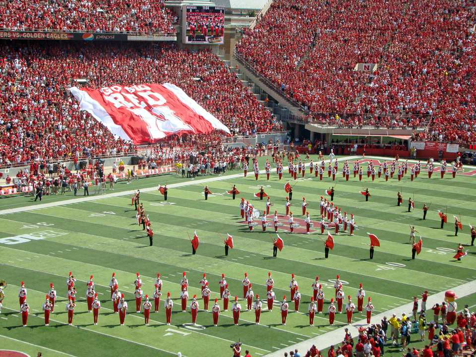 Nebraska college football stadium