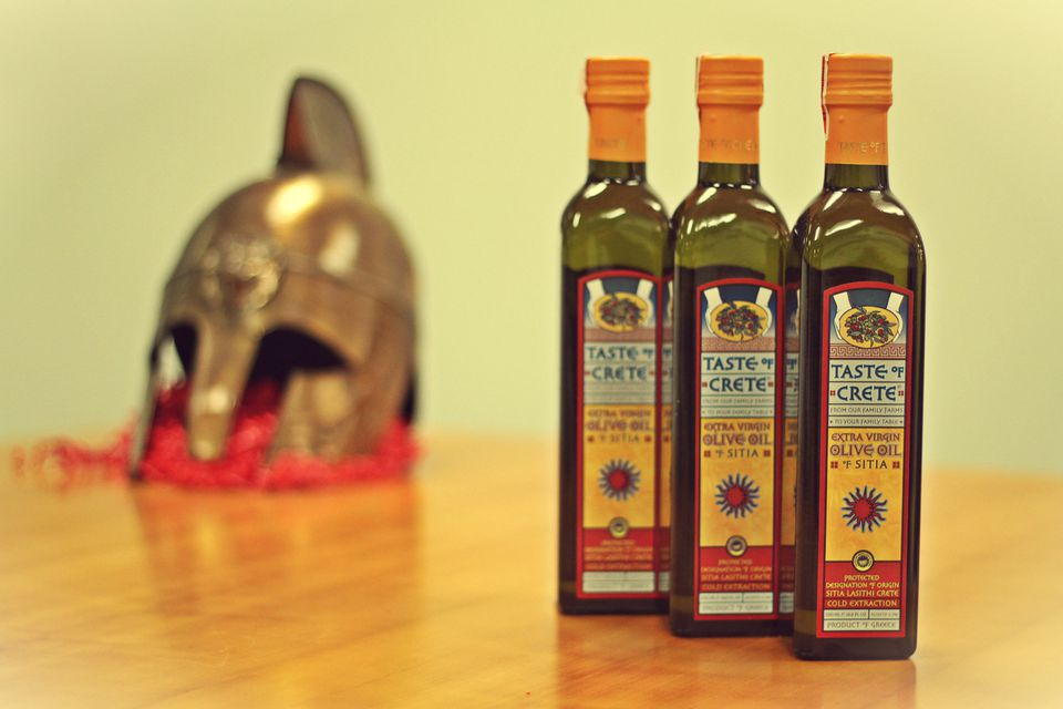 Olive oils from Taste of Crete