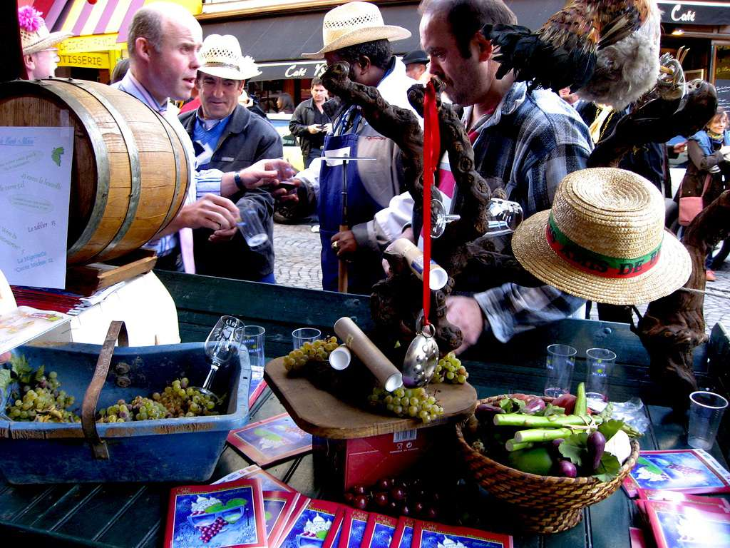 Food, drink, music and ceremonies are all on the agenda at the vendanges de Montmartre