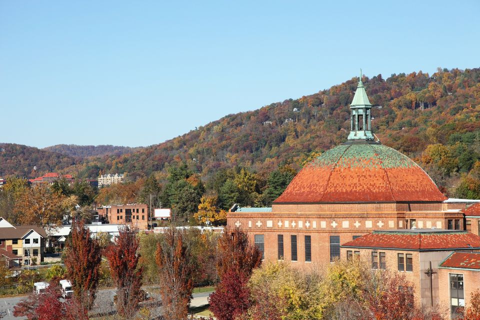 Asheville, North carolina in Autumn