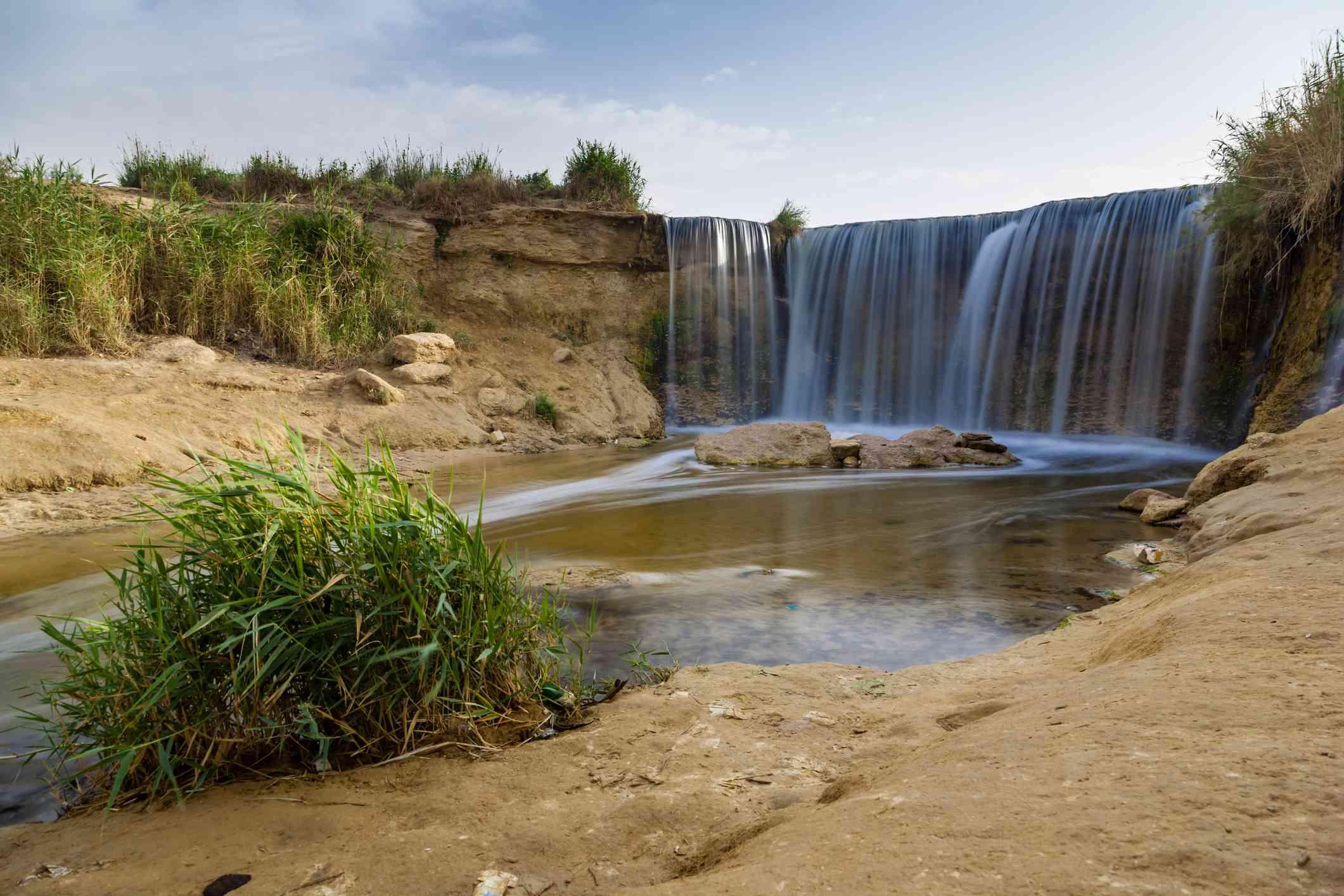 Wadi el Rayan Waterfalls, Egypt