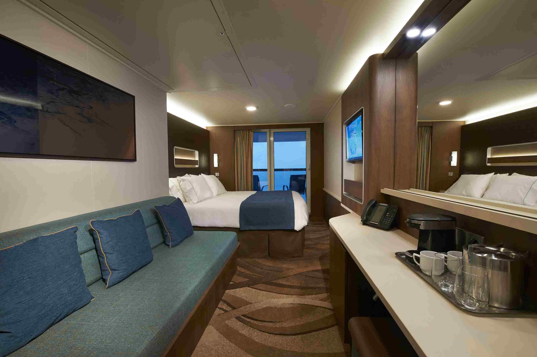 Norwegian Escape Balcony Cabin