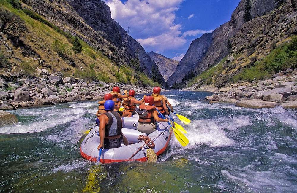 rafting en aguas bravas, Idaho