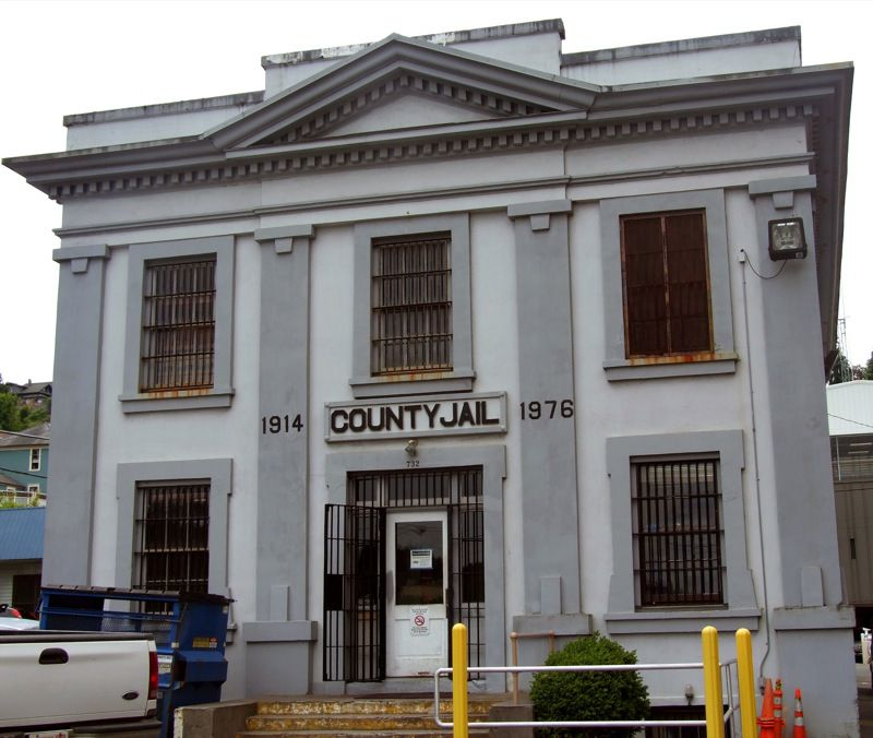 County Jail from The Goonies, Astoria Oregon