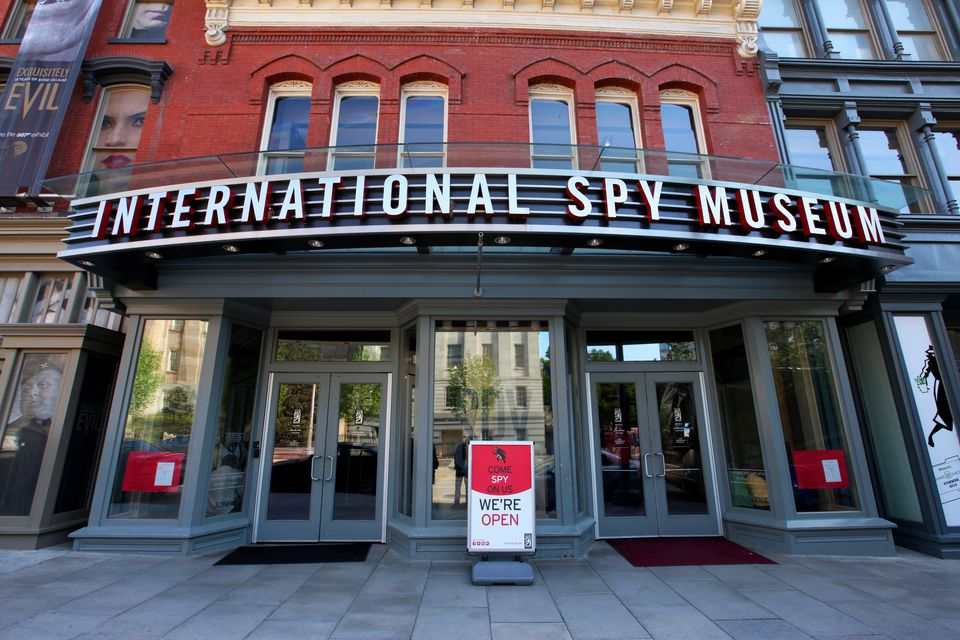 Image result for washington dc spy museum