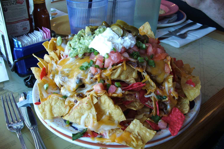 Nachos Margaritaville Las Vegas