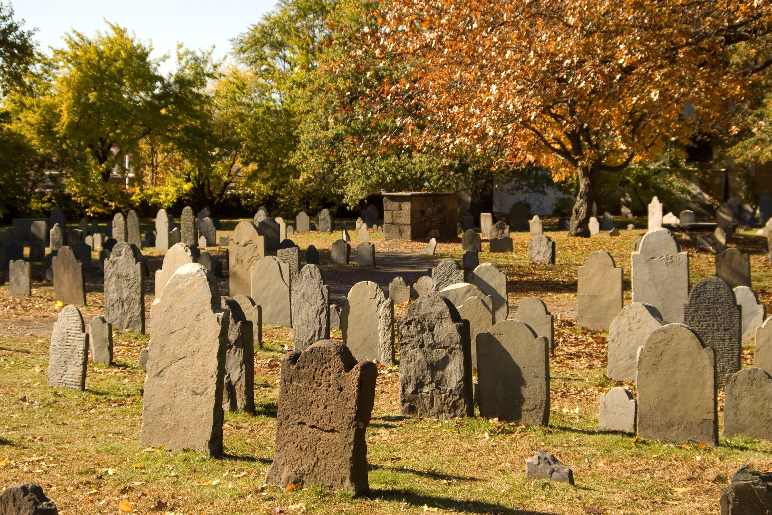 The Burying Point, Salem Massachusetts