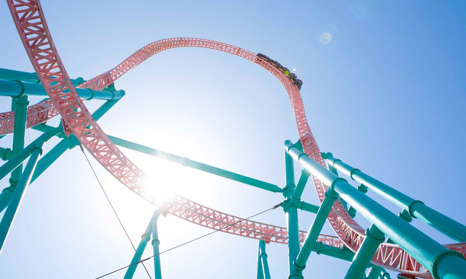 Xcelerator coaster at Knotts Berry Farm