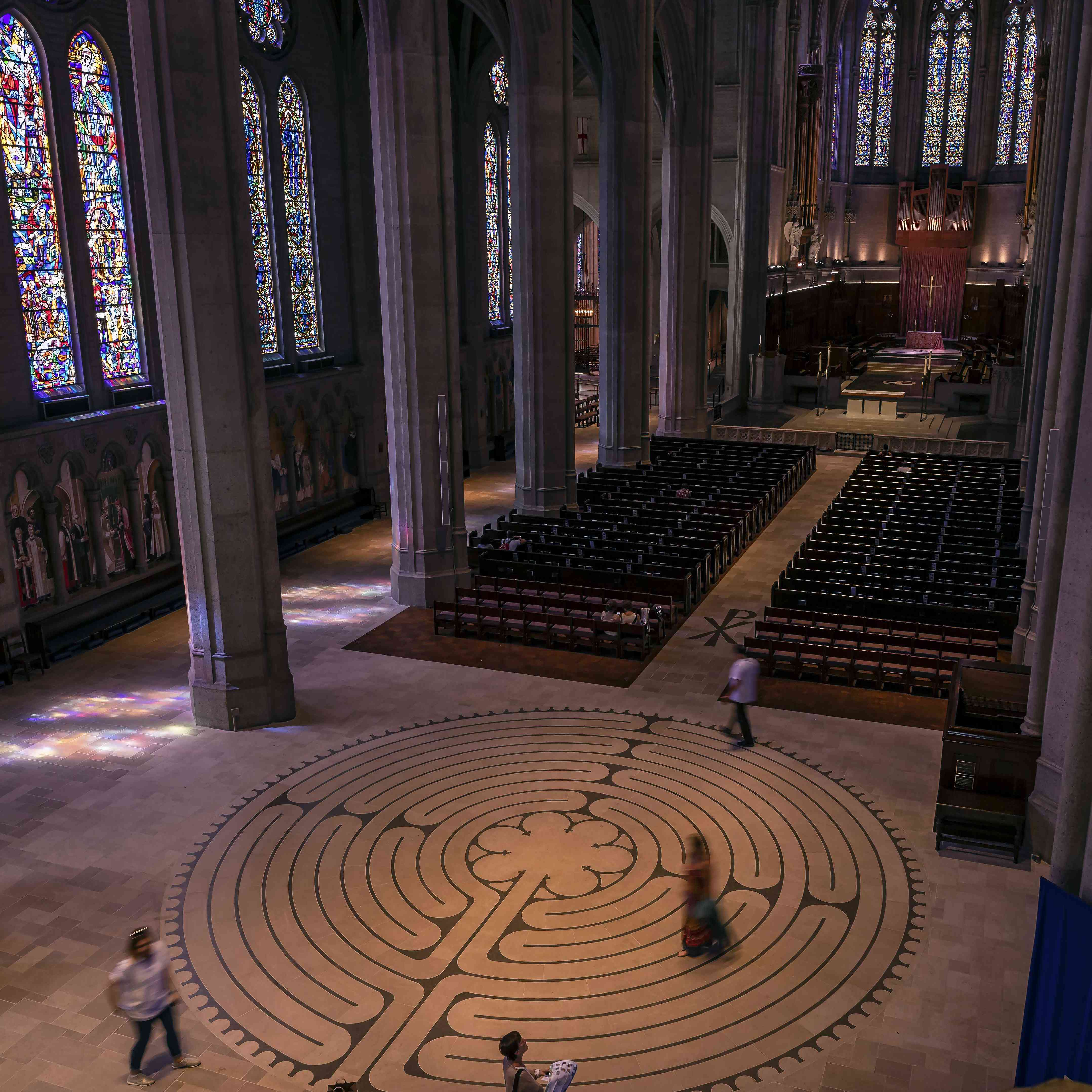 Grace Cathedral Labyrinth in San Francisco