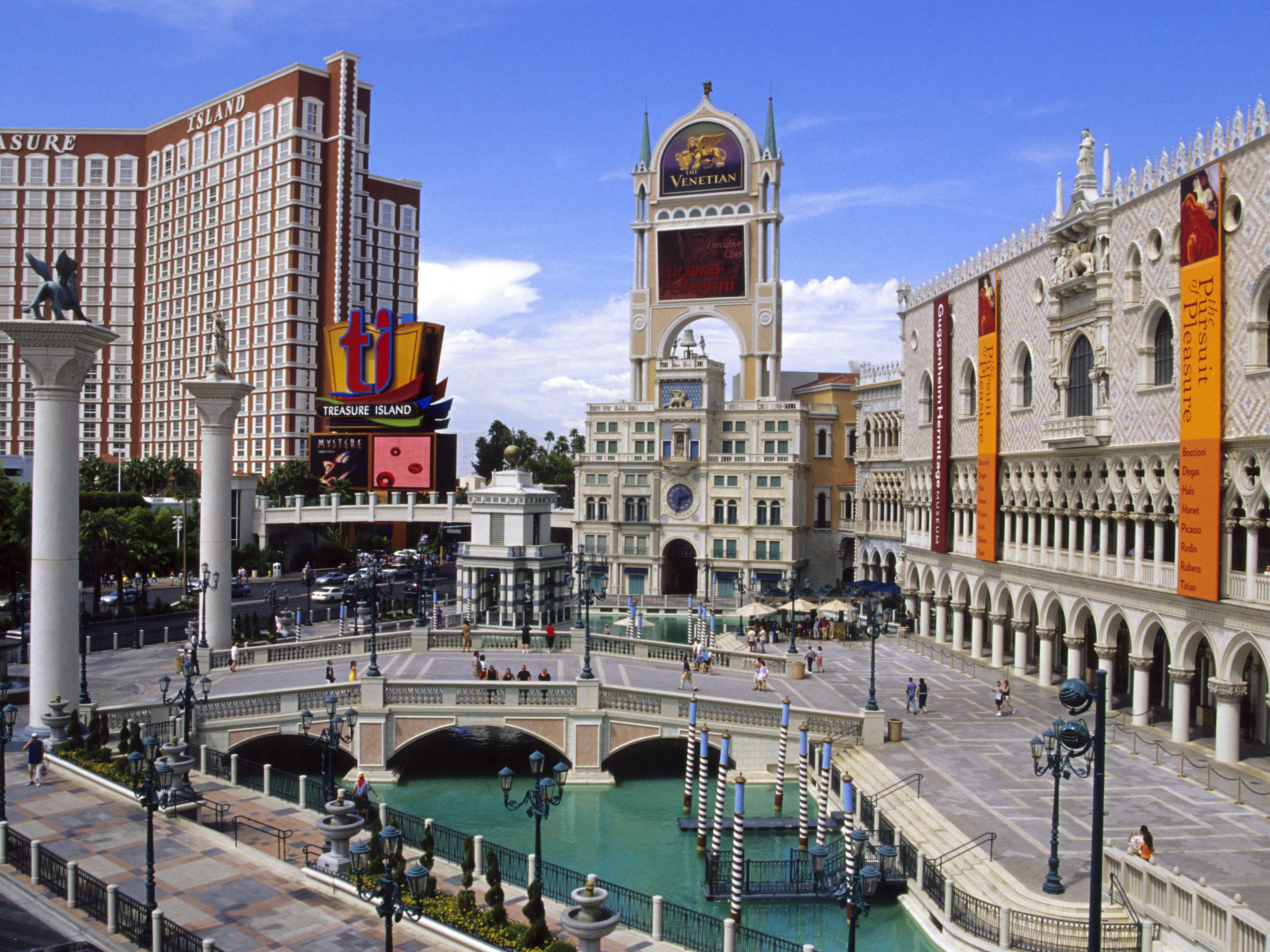 Food Court At The Venetian Hotel Las Vegas