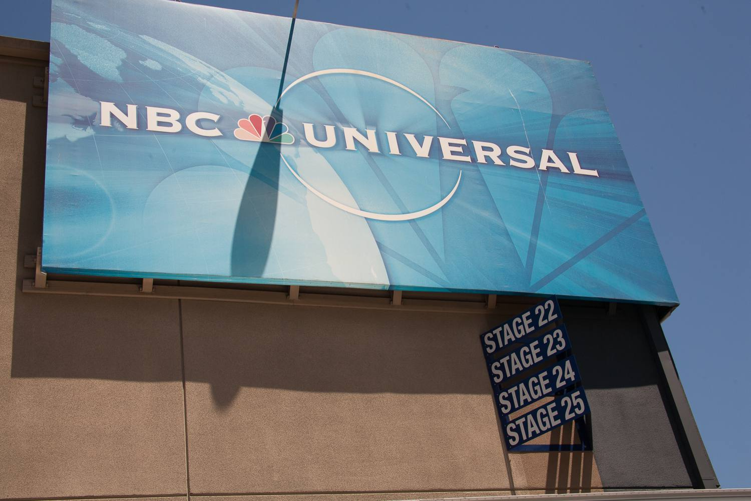 Sound stages at NBC Universal Studios