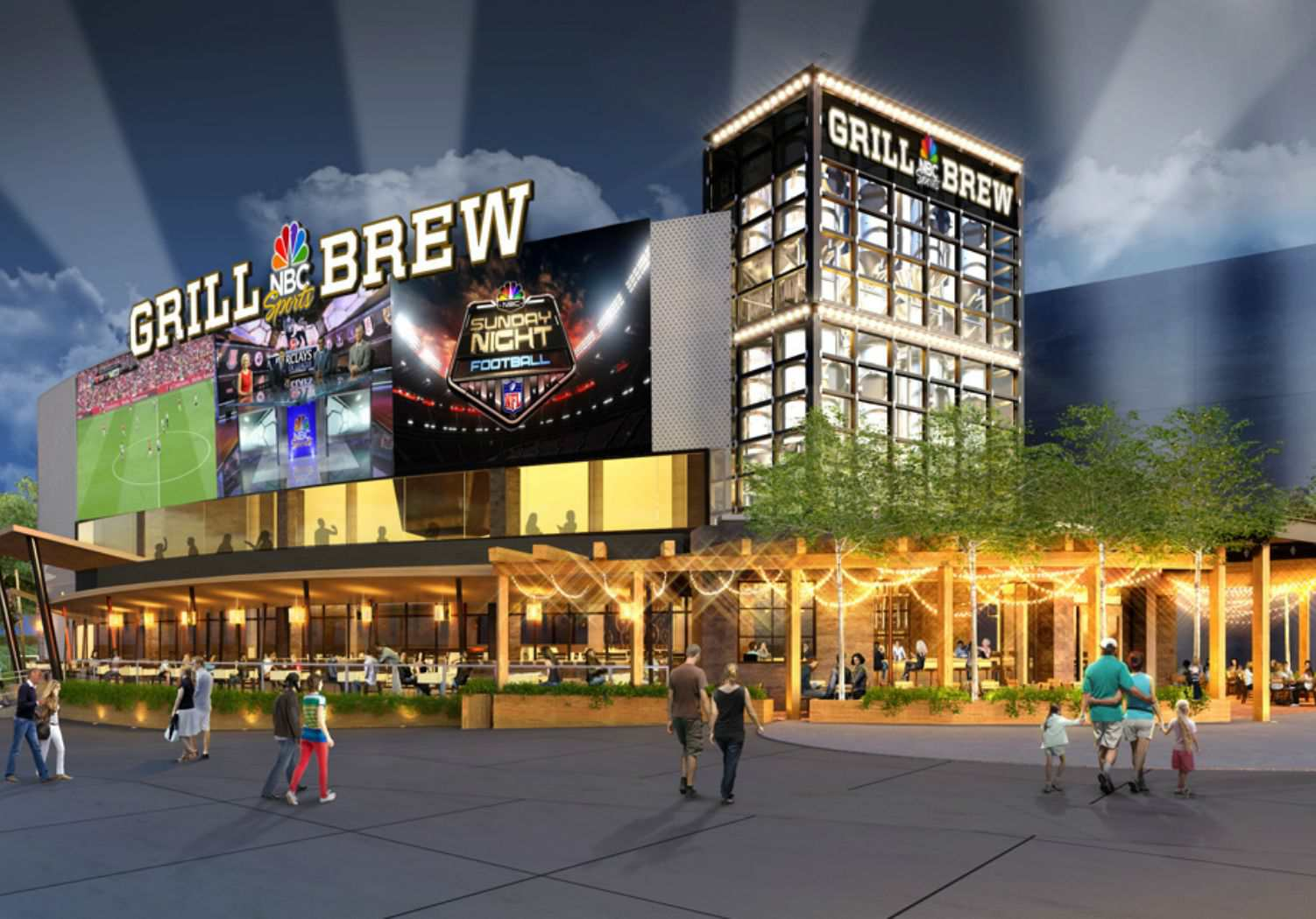Nbc Grill Brew At Universal Orlando Citywalk