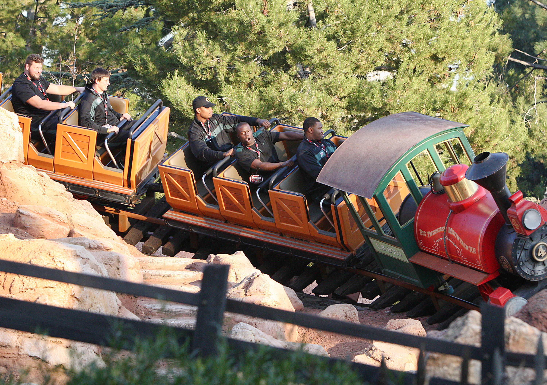 Big Thunder Mountain Railroad at Disneyland