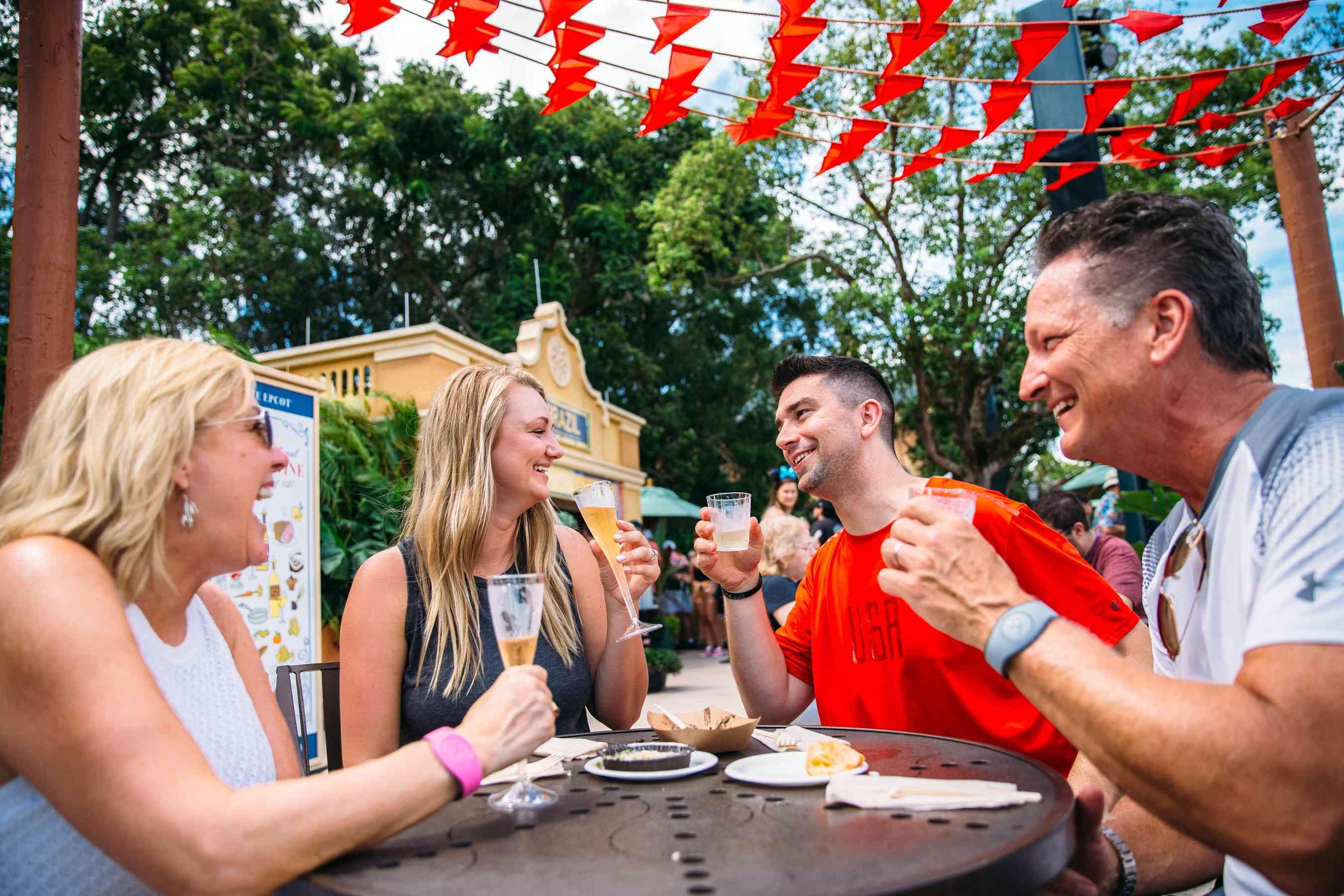 Epcot's Food & Wine Festival marketplaces