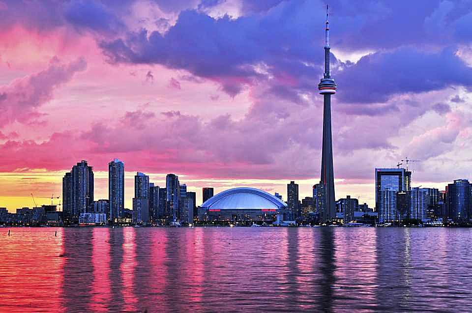 El horizonte de Toronto