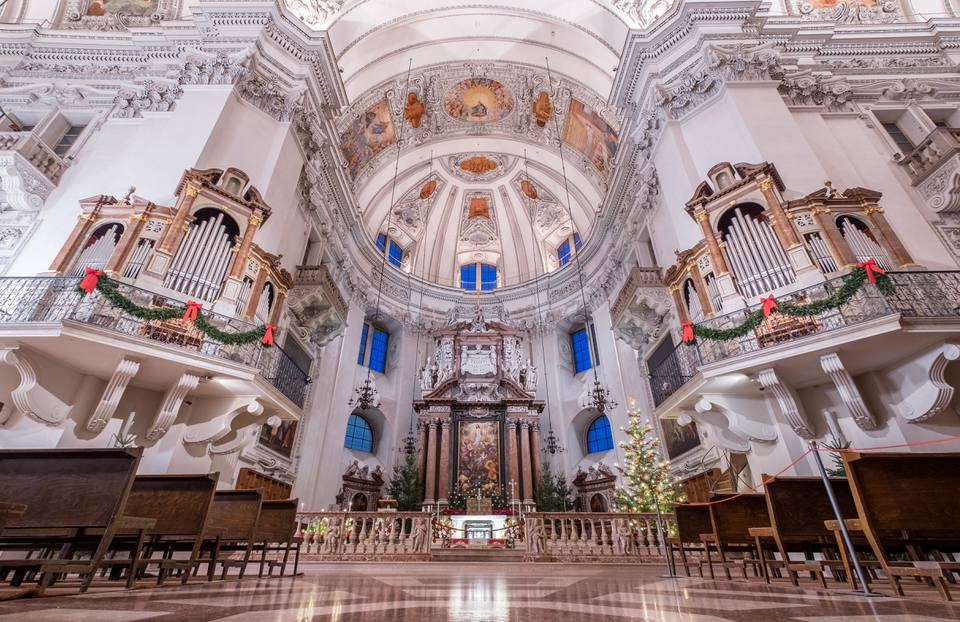 Salzburg cathedral interior