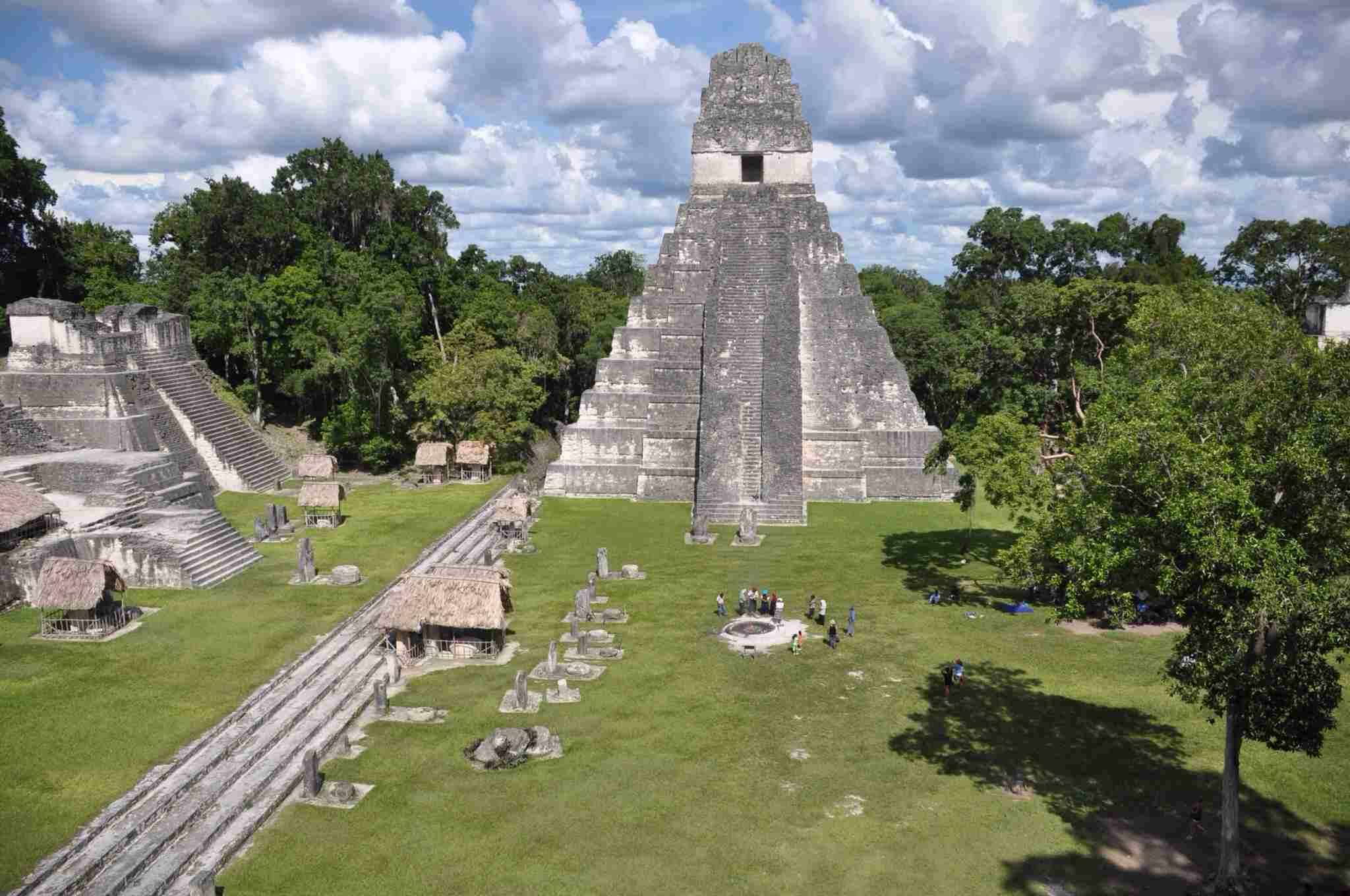 Temple at Tikal National Park