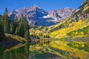 Fall in Colorado mountains