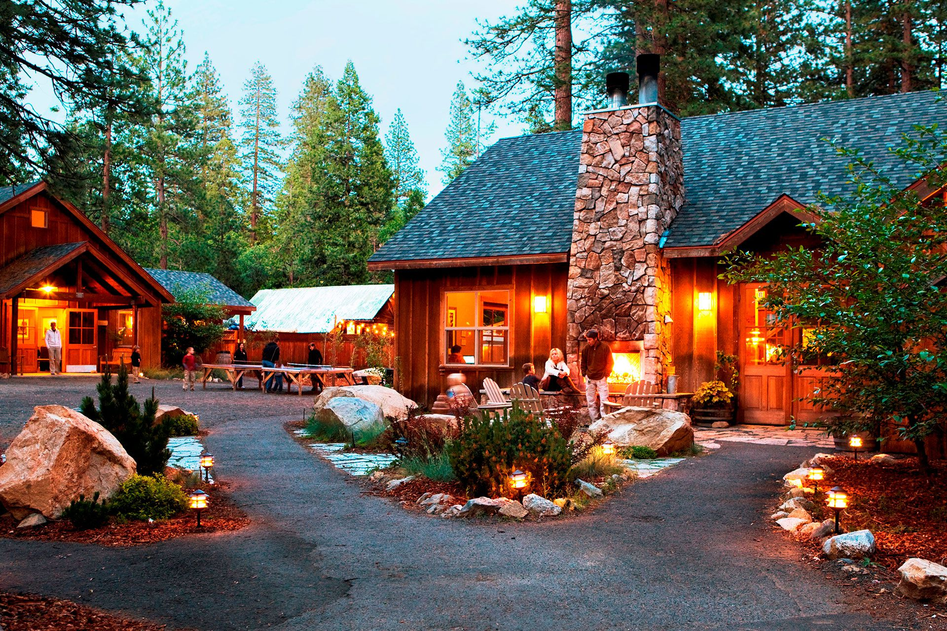 Best Overall Evergreen Lodge