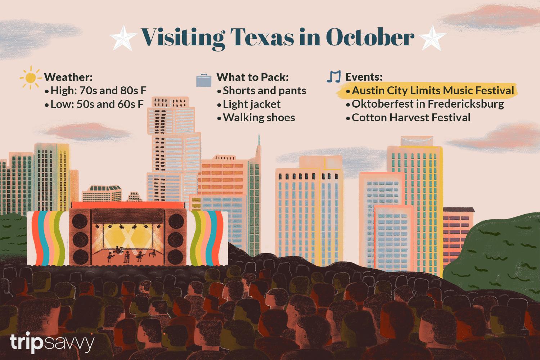 Texas in October